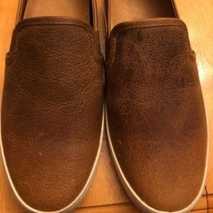 Frye Womens Dylan Slip On Brown 7.5M NEW